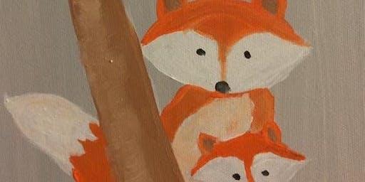 (ELGIN) Fox Family Paint It! Class-10/12/19 12-1pm