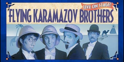 "Flying Karamazov Brothers: ""Club Sandwich"""