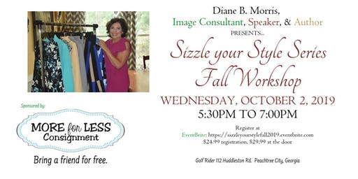 2nd Annual Sizzle Your Style Series Fall 2019 Workshop