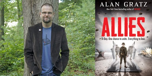 Alan Gratz at Decatur Library!