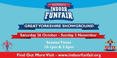 Harrogate Indoor Funfair October 2019