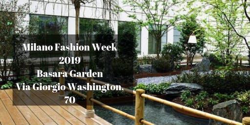 CFM / Milano Fashion Week 2019 - Basara Garden