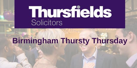 Birmingham Thursty Thursday tickets