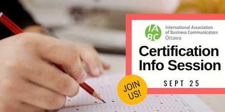 Professional Certification Information Session tickets
