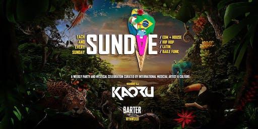 SUNDAE FLAVORS w/ DJ KAORU (Brazil)