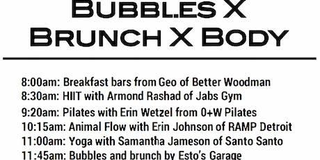 Bubbles x Brunch x Body tickets