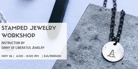 Stamped Jewelry Workshop tickets