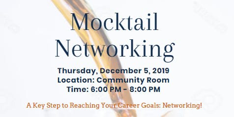 Mocktail Networking Event