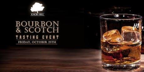Knob Hill's Scotch and Bourbon Tasting tickets