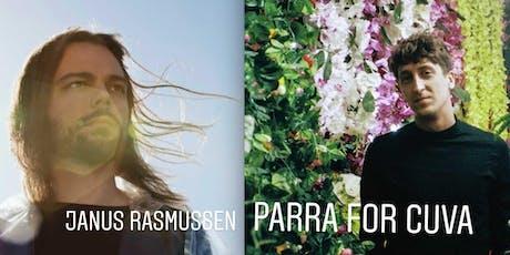 Parra for Cuva & Janus Rasmussen (live) Tickets