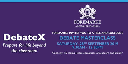 DebateX - Are you smarter than an 8-year-old? It's time to put it to test!