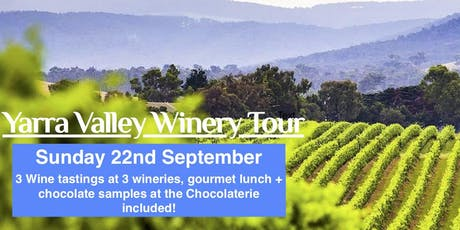 MOVE Yarra Valley Winery Tour Sem 2 2019 tickets