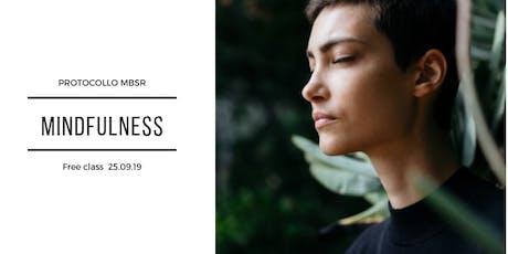 Mindfulness MBSR biglietti