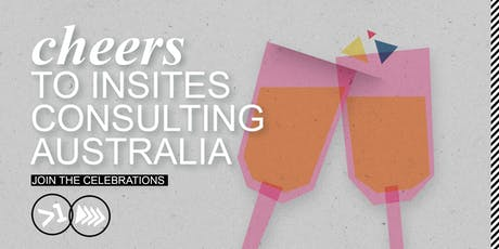 Cheers to InSites Consulting Australia  tickets