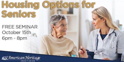 Housing Options for Seniors Seminar
