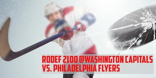 Rodef 2100 @ Washington Capitals vs. Philadelphia Flyers
