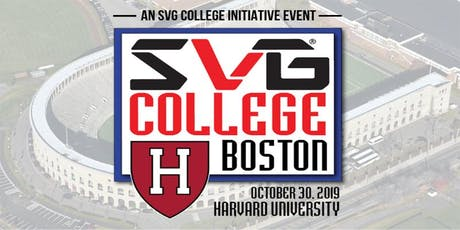 SVG College: Boston tickets