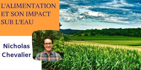 Conférence: L'alimentation et son impact sur l'eau billets