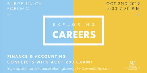 Exploring Careers in Finance & Accounting