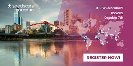 Seedstars Colombo 2019 tickets