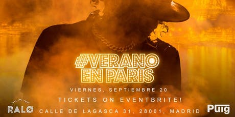 JERRY DI #VeranoEnParis tickets