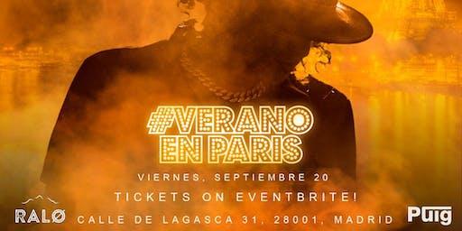 JERRY DI PRIMER SHOW EN MADRID #VeranoEnParis