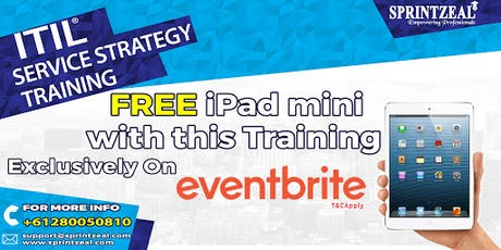 ITIL® Service Strategy Training in Newcastle tickets