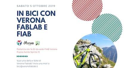 Bicicletta Verona Fablab + FIAB biglietti