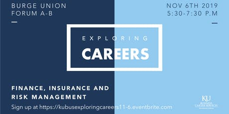 Exploring Careers in Finance, Insurance & Risk Management  tickets