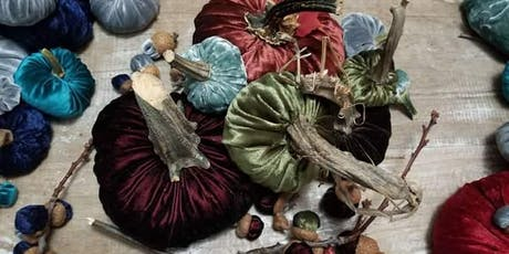 Velvet Pumpkins-Create and Sip Art classes with Angela and Diana tickets