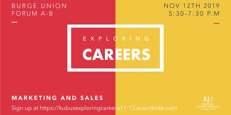 Exploring Careers in Marketing & Sales tickets