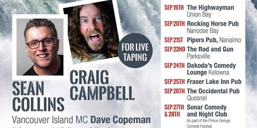Gone Fishing Comedy Show with Sean Collins & Craig Campbell