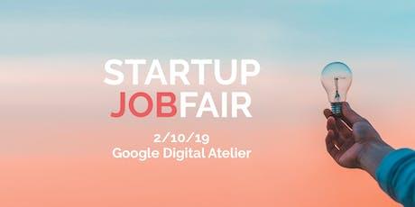 Startup Jobfair // October 2019 billets