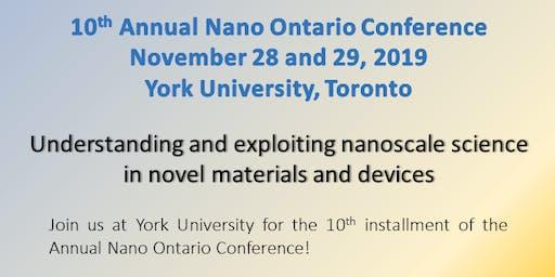 2019 NanoOntario Conference