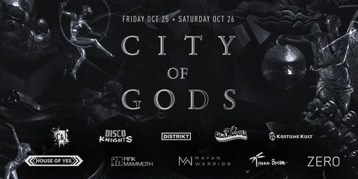 City of Gods Halloween 2019