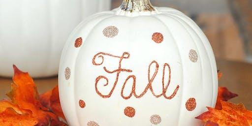 Sip & CRAFT * Pumpkin Edition!