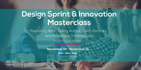Design Sprint & Innovation Masterclass tickets