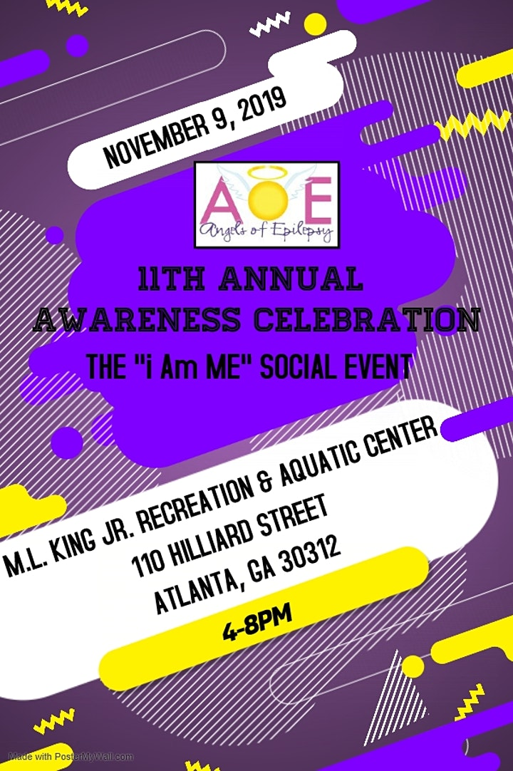 "AOE's 11th Annual Awareness Celebration - The ""i Am ME""  Social Event image"