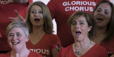 Glorious Chorus & Chaps choir in concert
