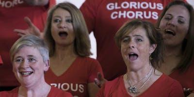 Glorious Chorus & Chaps choir in concert
