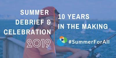 2019 Boston Summer Learning Debrief & Celebration