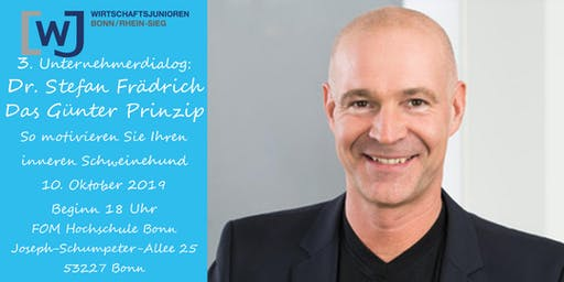 3. Unternehmerdialog mit Dr. Stefan Frädrich