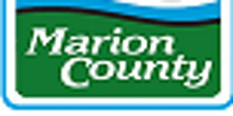 Marion County Emergency Support Function 9 Meeting - Search and Rescue tickets