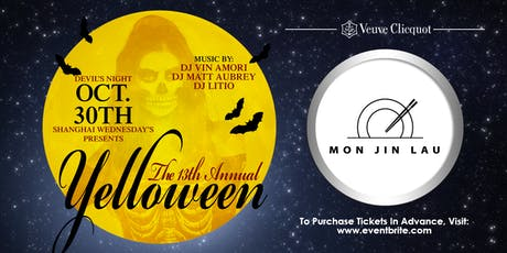Mon Jin Lau's Shanghai Wednesday's 13th Annual Yelloween Halloween Party tickets