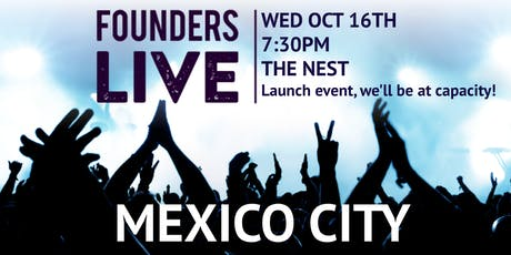 Founders Live CDMX entradas