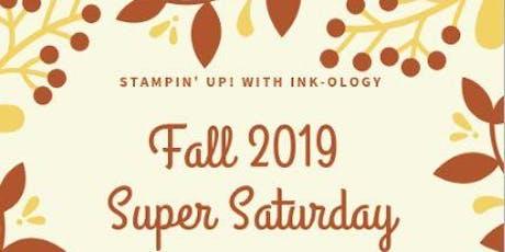 Fall 2019 Super Saturday tickets