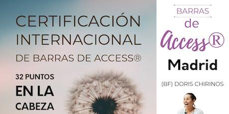 Certificación Internacional de las Barras de Access® entradas