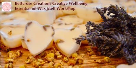 Essential oil wax melt workshop tickets