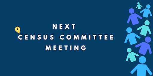 September 2019 Census Committee Meeting