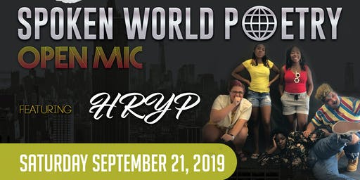 Spoken World Poetry Open Mic